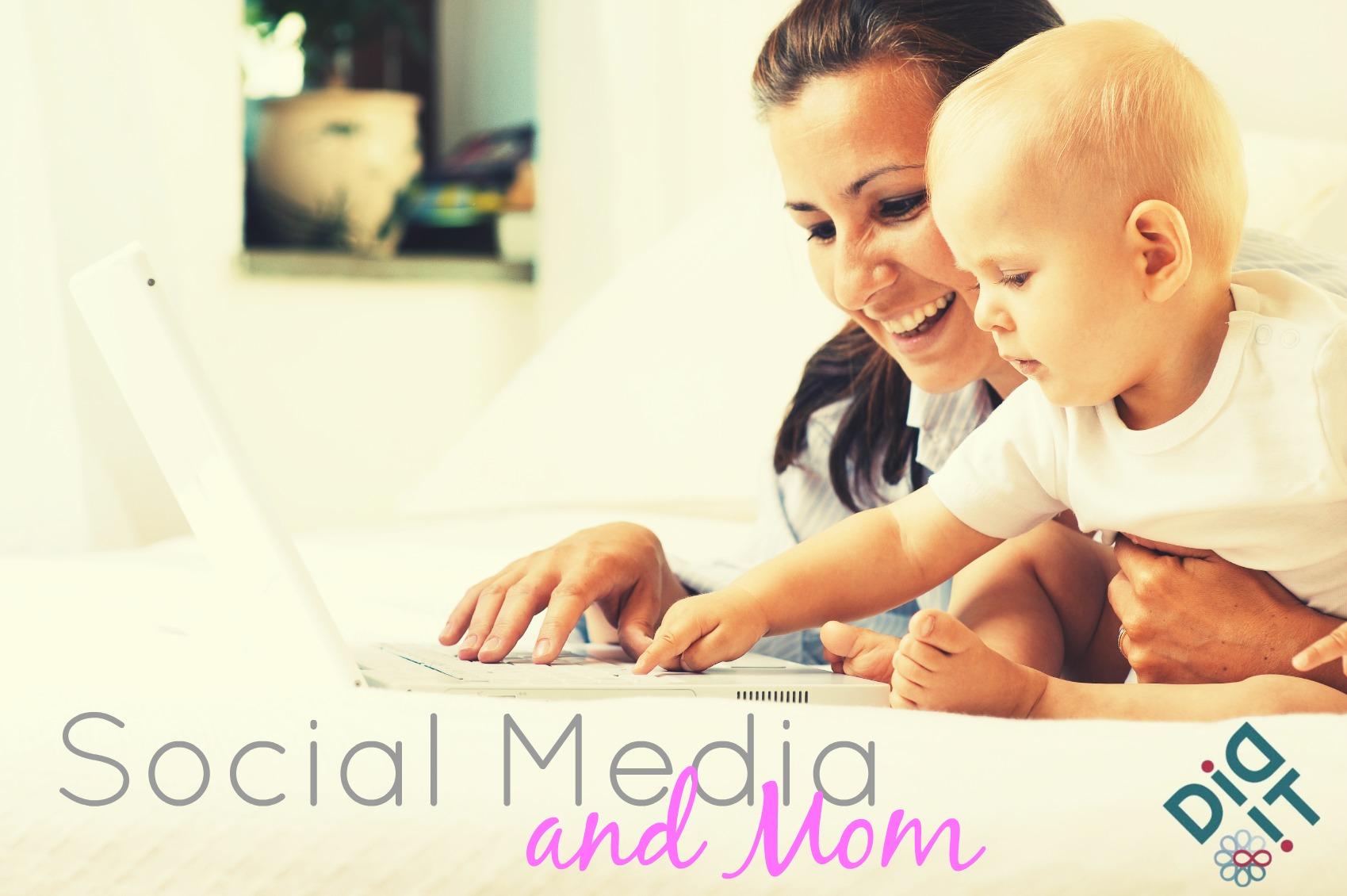 mom social media baby