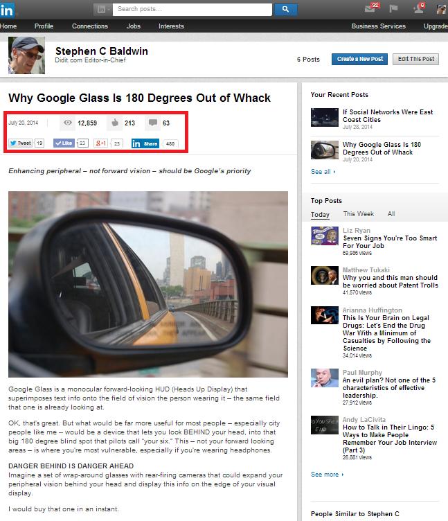 Staking Your Claim on LinkedIn's New Publishing Platform
