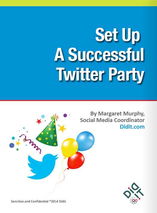 Set up a successful Twitter party