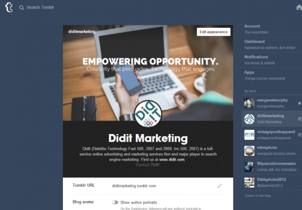 Optimizing your Tumblr mobile site   Didit –Articles