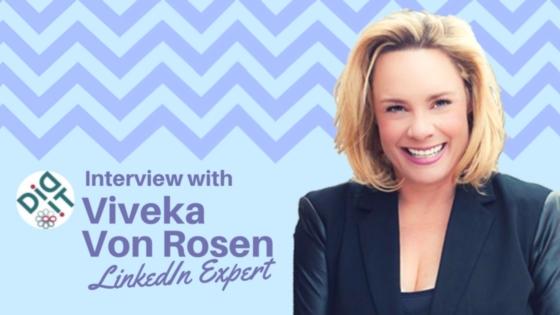 Return of the Linkedin Expert: Viveka Von Rosen on the Latest at Linkedin