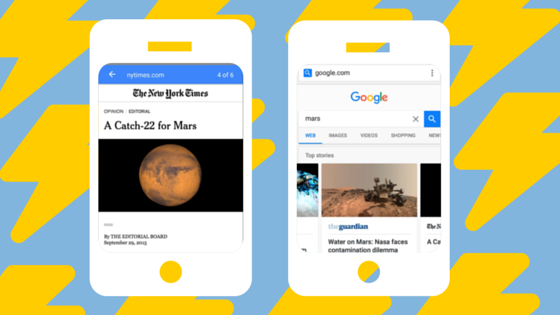 Google AMP puts your content in the fast lane