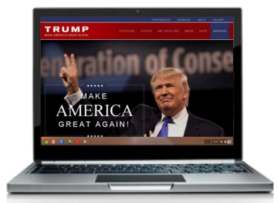 Donald Trump loses in Iowa but sweeps mobile and desktop speed races