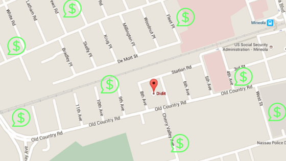 local ads google maps