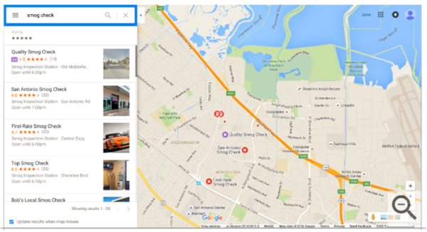 local search ads coming to google maps