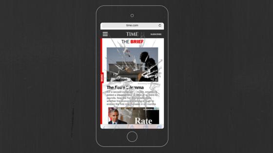 """Time.com invites ad blocking web surfers to """"break"""" site"""