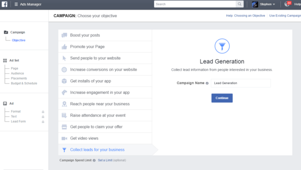 Build a Facebook Leads Ad campaign in 7 easy steps | Didit