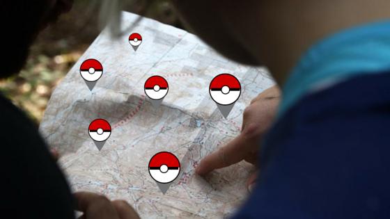 pokemon go business map