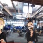 3D social networks get real (Facebook Oculus VR demo)